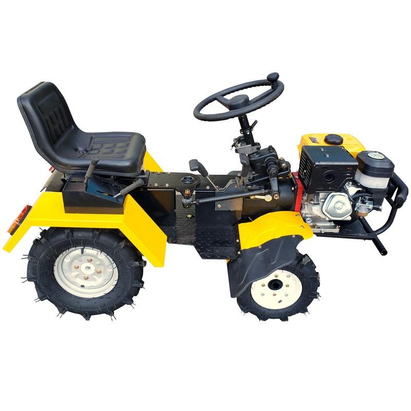 Poza Mini tractor hidraulic 4x4 Progarden Campo 1856-4WDH, 18CP, benzina, 4+1 viteze. Poza 11209
