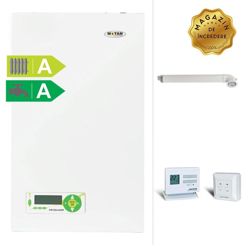 Poza Pachet centrala termica in condensare Motan MKDens29 + termostat de ambient wireless. Poza 11935