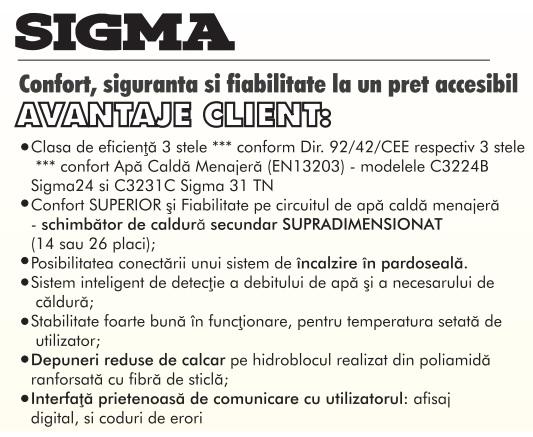 Centrala termica Motan Sigma 24 Erp  24 kw. Poza 1541