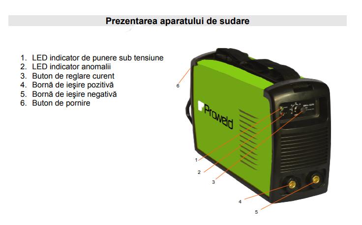 Prezentare aparat de sudura Proweld MMA-140PI