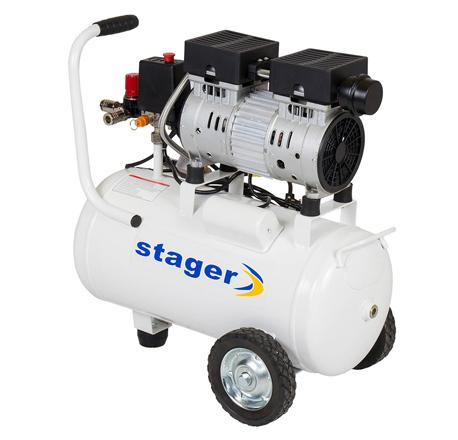 Compresor de aer Stager HM24JW-0.55 0.75CP 24L 8 BAR