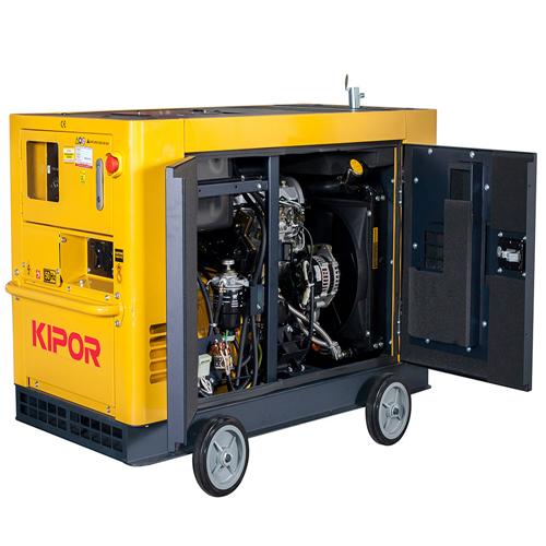 Generator insonorizat Kipor KDE 19 STA3