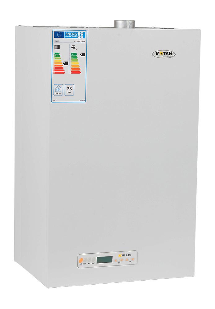 Centrala termica cu tiraj fortat Motan Kplus C22 SPV 23 MEF 23 kW. Poza 1536