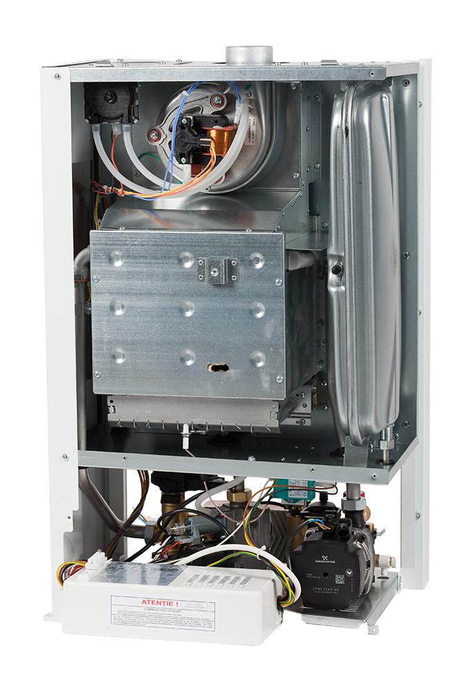 Centrala termica cu tiraj fortat Motan Kplus C22 SPV 23 MEF 23 kW. Poza 1537