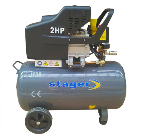 Compresor de aer Stager HM2050B 50L 8 BAR