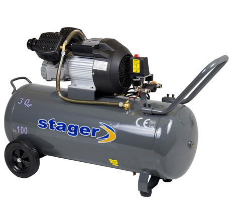 Compresor de aer Stager HM3100V 3CP, 100L, 8 BAR