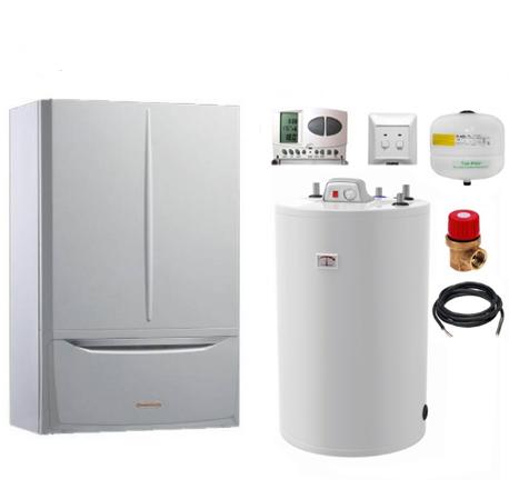 Pachet centrala termica Immergas Victrix Maior 35 TT X cu boiler Atlas 200 litri