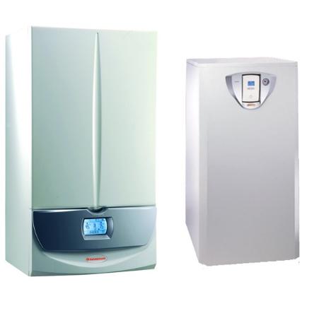 Pachet centrala termica Immergas Victrix Superior 32 X 2 ERP cu boiler Immergas UB Inox 200 V2 – 200 litri