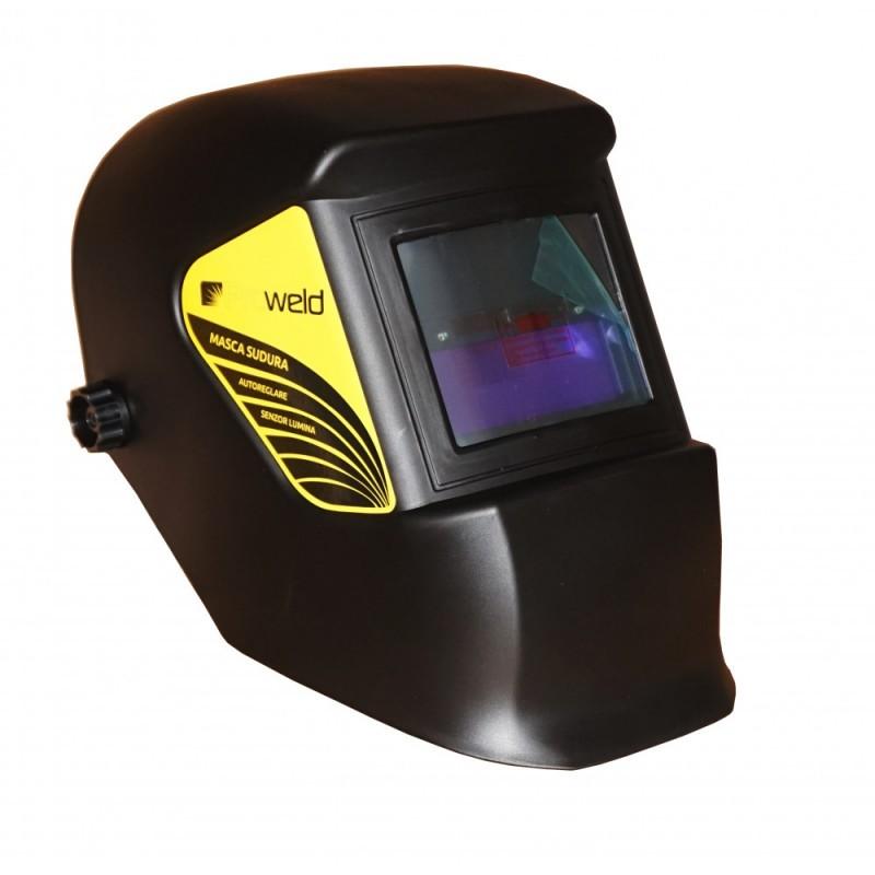 Pachet invertor MMA ProWeld MMA-200DLS + masca de sudare ProWeld LYG-3200A. Poza 6426