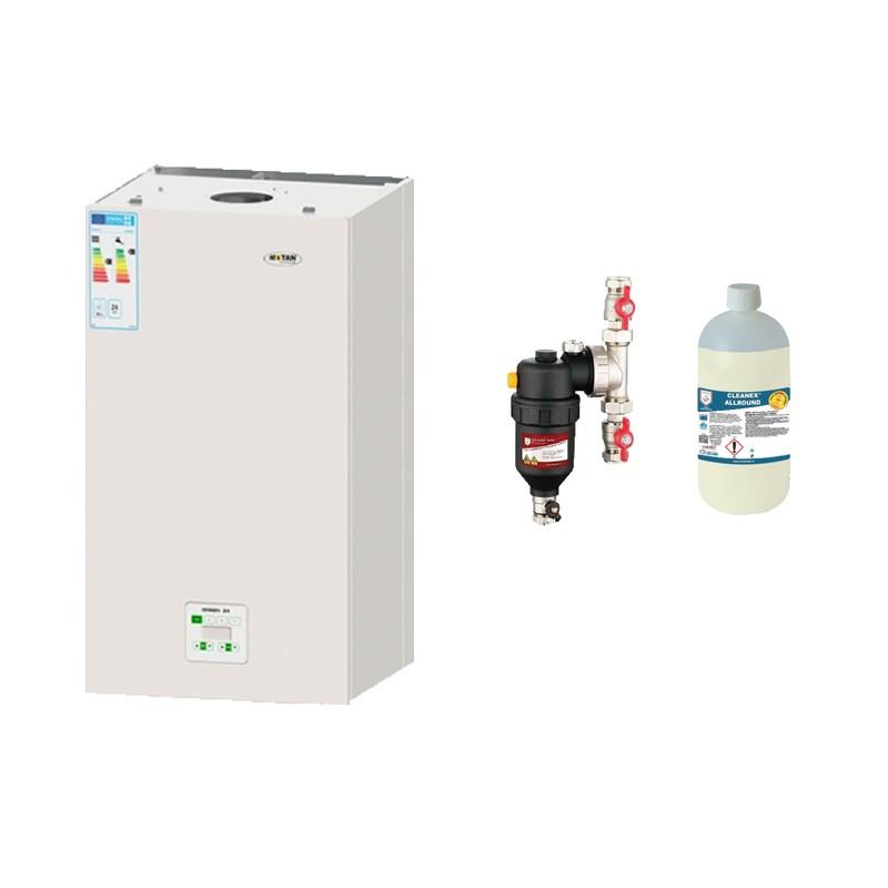 Cadou filtru antimagnetita la centrala termica in condensatie Motan Green 24 kW. Poza 7342