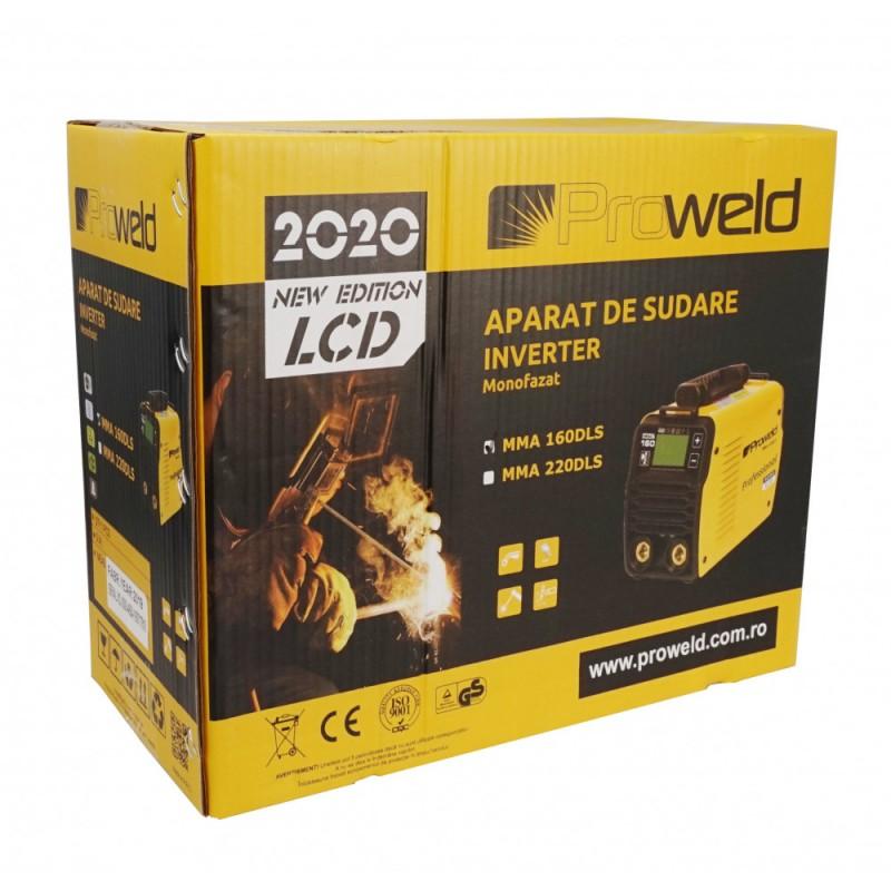 Aparat de sudura profesional Proweld MMA-160DLS LCD. Poza 7358
