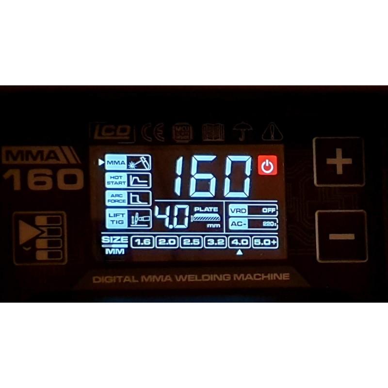 Aparat de sudura profesional Proweld MMA-160DLS LCD. Poza 7359