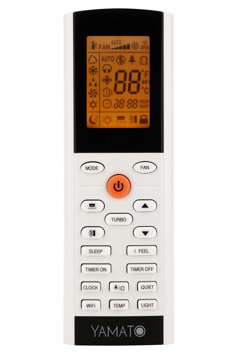 Telecomanda aparat aer conditionat Yamato Alpin 18000 Btu YW18IG5, Wi-fi. Poza 7376