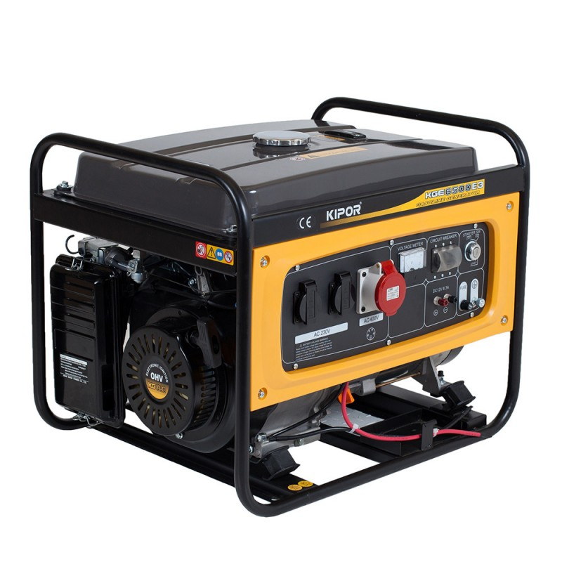 Generator Kipor KGE 6500 E3. Poza 7450
