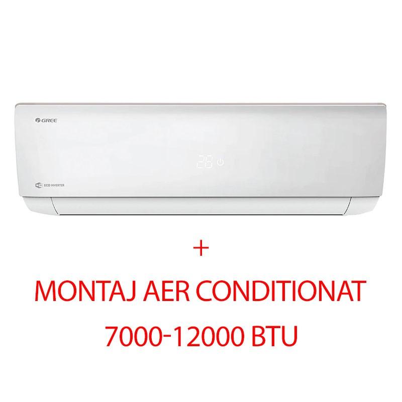 Poza Aer conditionat Gree GWH09AAB-K6DNA4A, Bora A4, Silver, 9000 BTU, Kit Instalare inclus, montaj inclus. Poza 9855