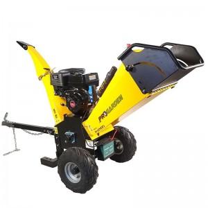 poza Tocator resturi vegetale Progarden TB100E, 12CP, benzina 6 mc/h, 65-100 mm, pornire electrica