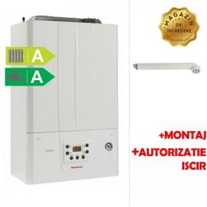 poza Pachet centrala termica in condensatie Immergas Victrix Tera 24/28 1 ERP 24 kw + Montaj + Autorizare ISCIR