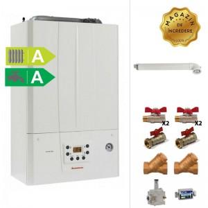 poza Pachet centrala termica in condensatie Immergas Victrix Tera 24/28 1 ERP 24 kw + Kit accesorii instalare centrala