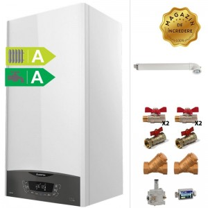 poza Pachet centrala termica cu condensare Ariston Clas One 24 kW + Kit accesorii instalare centrala