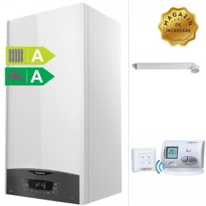 poza Pachet centrala termica in condensatie Ariston CLAS ONE 24 kW + Termostat de ambient wireless