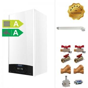 poza Pachet centrala termica cu condensare Ariston Genus One 24 kW + Kit accesorii instalare centrala