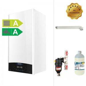 poza Pachet centrala termica in condensare Ariston Genus One 24 EU 24 KW + Filtru anti-magnetita Chemstal Cleanex MAG HF 3/4
