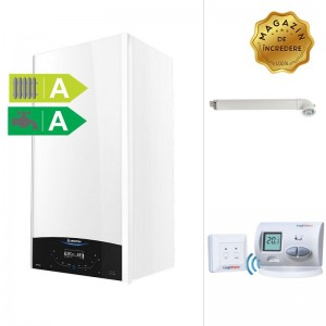 poza Pachet centrala termica in condensatie Ariston GENUS ONE 24 kW + Termostat de ambient wireless