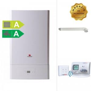 poza Pachet centrala termica Saunier Duval Semia Condens 25A - 25 kW +  termostat wireless