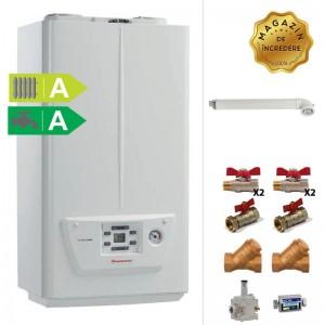 poza Pachet centrala murala in condensare Immergas Victrix Omnia 24 kW + Kit accesorii instalare centrala