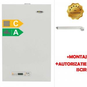 poza Pachet centrala termica cu tiraj fortat Motan Kplus 24 kW + Montaj + Autorizare ISCIR