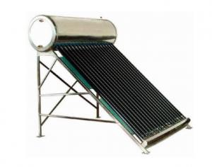 poza Panou solar presurizat Sontec SPP-470-H58/1800 boiler inox interior-exterior 250 litri