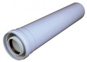 poza Prelungire coaxială 80/125 l 1000mm condensatie