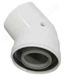 poza Cot coaxial 45 grade 60/100 condensatie