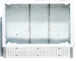 poza CASETA METALICA REGLABILA PENTRU COLECTOARE TIP  BARA/FLOOR  700 x 620 x 90 TIEMME