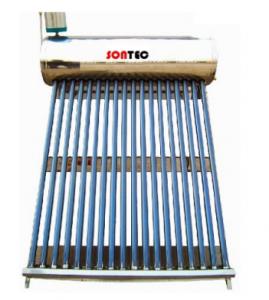 poza Panou solar nepresurizat cu boiler 150 litri inox interior-exterior Sontec RTTS 58/1800 15 S