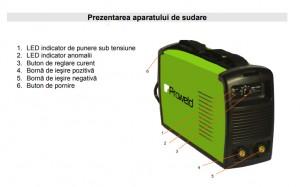 Poza Prezentare aparat de sudura Proweld MMA-140PI