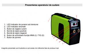 Poza Prezentare aparat de sudura Proweld MMA-180PI