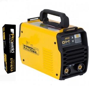 Poza ProWeld MMA-140DLS - Invertor sudura, profesional, IGBT + 5 kg electrozi rutilici sau bazici
