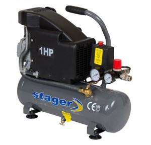 poza Compresor de aer Stager HM1010K 6L 8 BAR