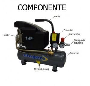 Poza Componente compresor de aer Stager HM1010K 6L 8 BAR