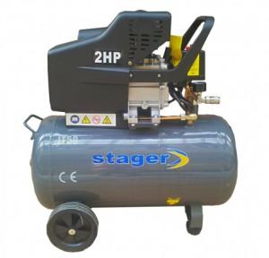Poza Compresor de aer Stager HM2050B 50L 8 BAR