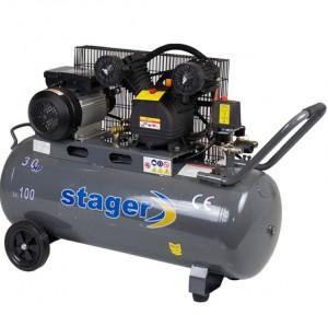 poza Compresor de aer Stager HM-V-0.25/100 100L 8 BAR