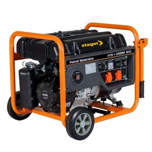 poza Generator open frame benzina Stager GG 6300 W
