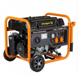 poza Generator open frame benzina Stager GG 7300 EW