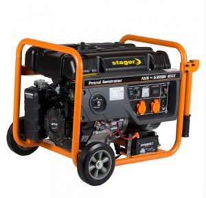 poza Generator open frame benzina Stager GG 7300-3EW