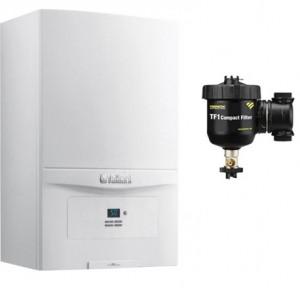 poza Pachet centrala termica in condensatie Vaillant EcoTEC PURE VUW 236/7-2 23 kW + Filtru anti-magnetita Fernox TF1