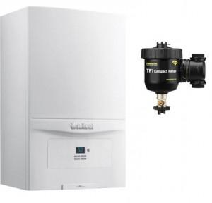 poza Pachet centrala termica in condensatie Vaillant EcoTEC PURE VUW 286/7-2 28 kW + Filtru anti-magnetita Fernox TF1