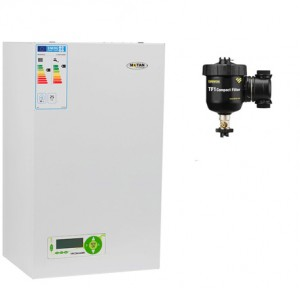 poza Pachet centrala termica in condensare Motan MKDENS25 25 kW ERP-P + Filtru anti-magnetita Fernox TF1