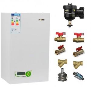 poza Pachet centrala termica in condensare Motan MKDENS25 25 kW ERP-P + Filtru anti-magnetita Fernox TF1 + Kit accesorii centrala