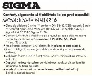 Poza Centrala termica Motan Sigma 24 Erp  24 kw. Poza 1541